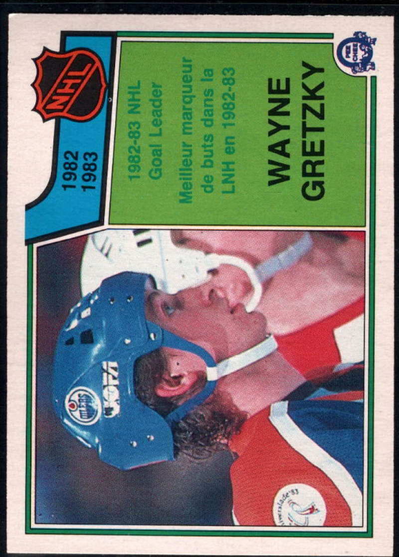 1983-84 O-Pee-Chee #215 Wayne Gretzky LL NM-MT Edmonton Oilers