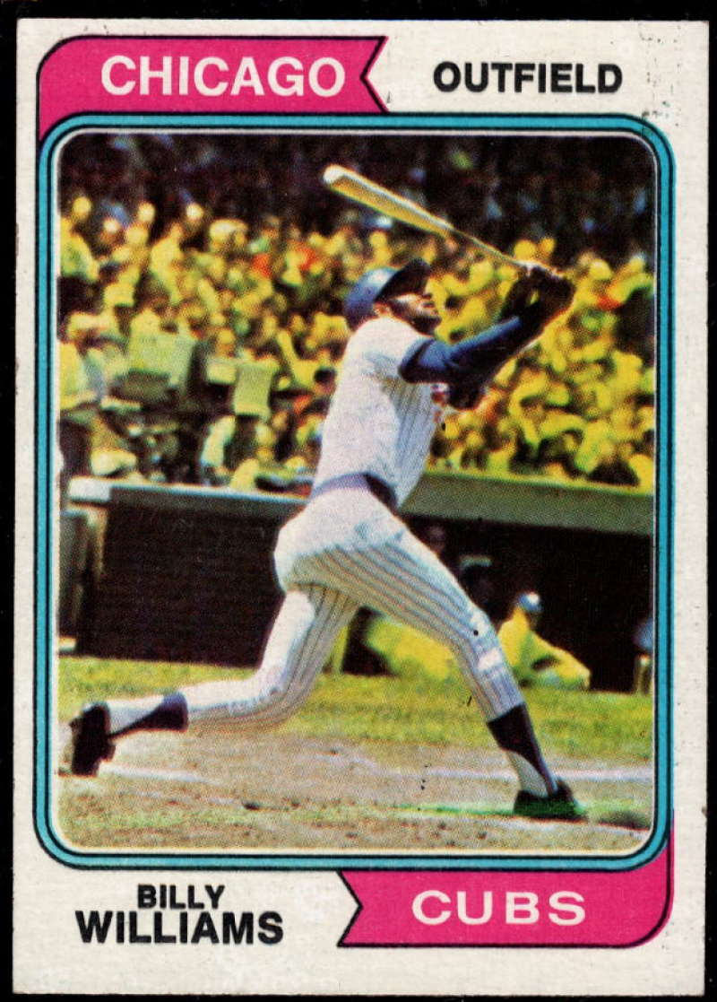 1974 Topps #110 Billy Williams EX/NM Chicago Cubs