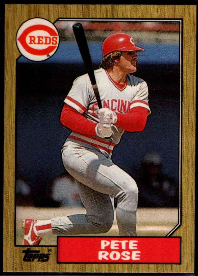 1987 Topps Tiffany #200 Pete Rose NM Near Mint Cincinnati Reds