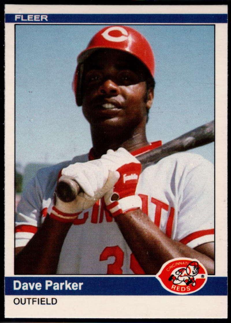 1984 Fleer Update #89 Dave Parker NM Near Mint Cincinnati Reds