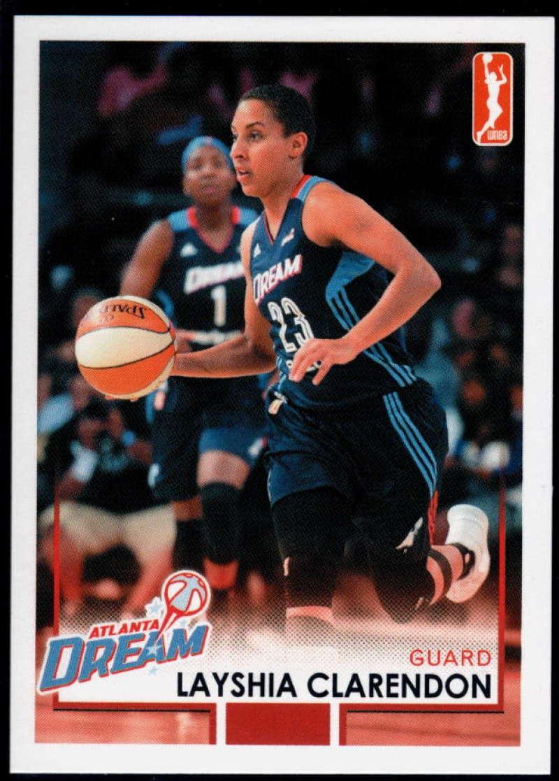 2017-18 Rittenhouse WNBA #5 Layshia Clarendon NM-MT+ Atlanta Dream