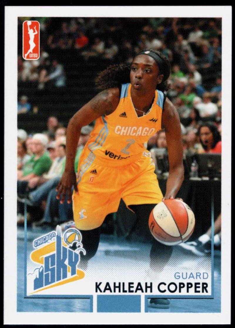2017-18 Rittenhouse WNBA #14 Kahleah Copper NM-MT+ Chicago Dream