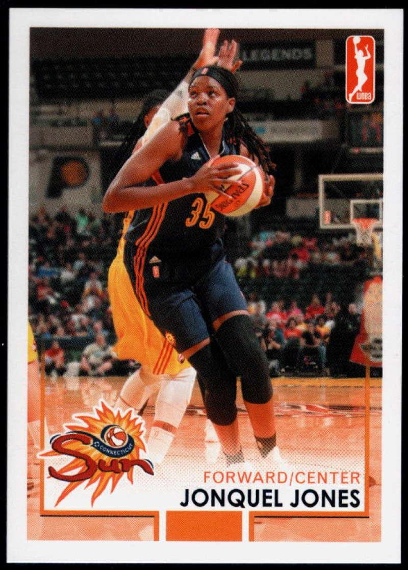 2017-18 Rittenhouse WNBA #21 Jonquel Jones NM-MT+ Connecticut Sun