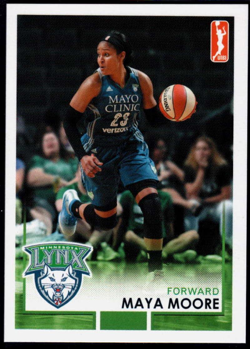 2017-18 Rittenhouse WNBA #55 Maya Moore NM-MT+ Minnesota Lynx