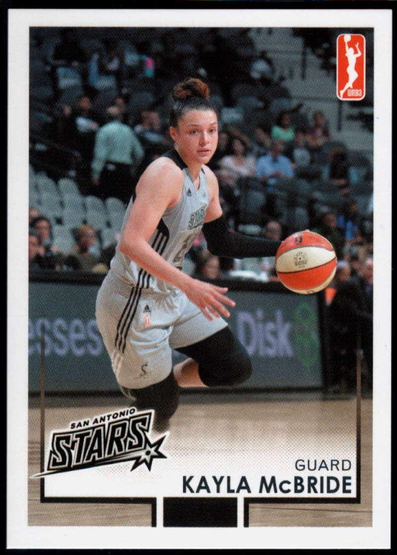 2017-18 Rittenhouse WNBA #86 Kayla McBride NM-MT+ San Antonio Stars