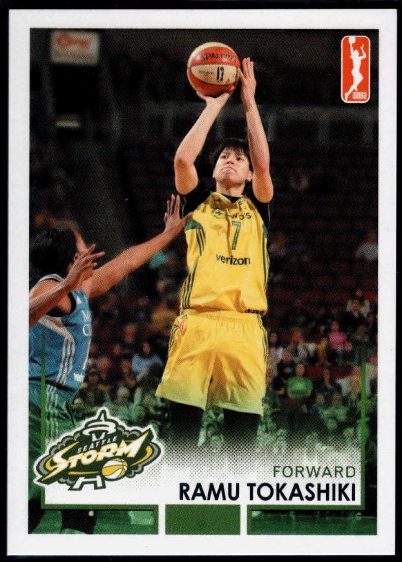 2017-18 Rittenhouse WNBA #99 Ramu Tokashiki NM-MT+ Seattle Storm