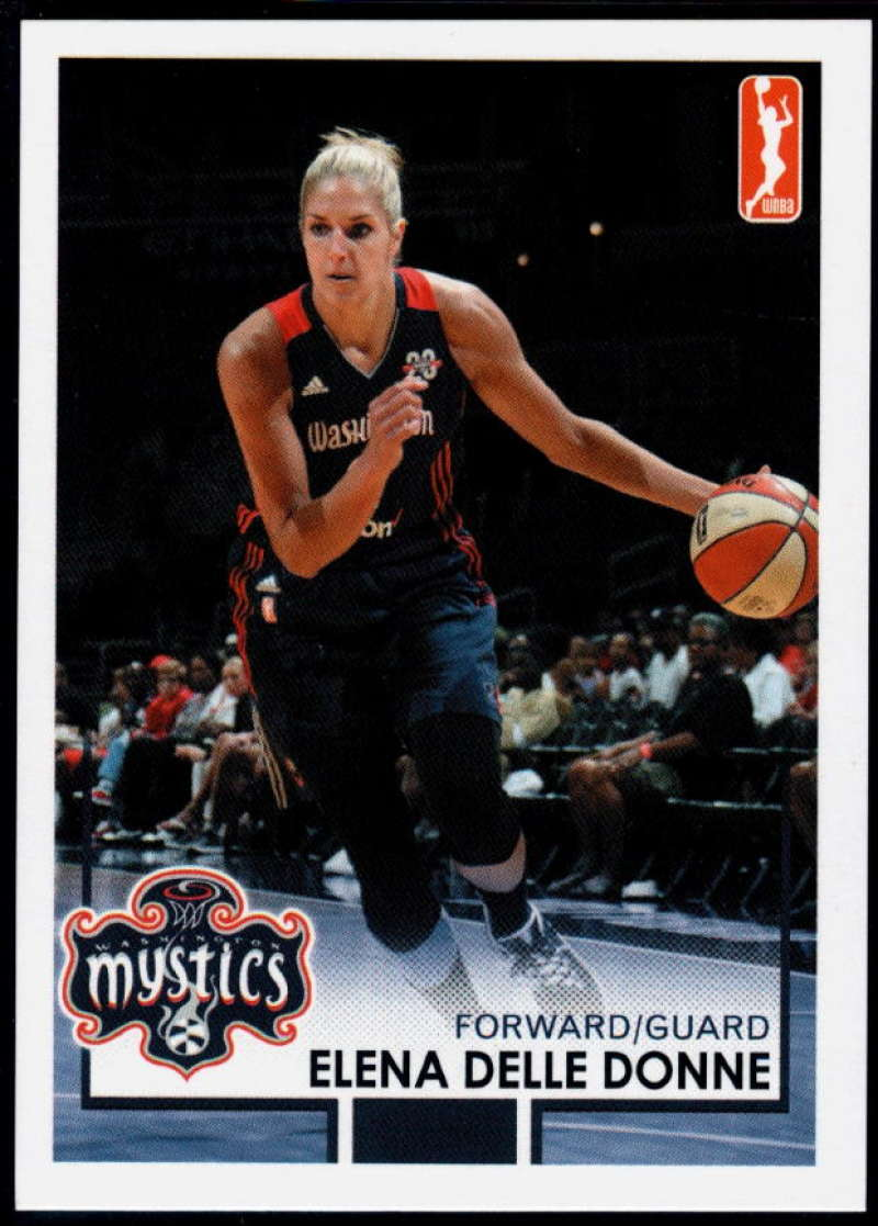 2017-18 Rittenhouse WNBA #102 Elena Delle Donne NM-MT+ Washington Mystics