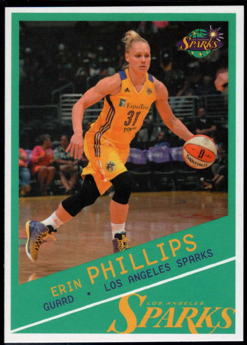 2015-16 Rittenhouse WNBA #35 Erin Phillips NM-MT+ Los Angeles Sparks