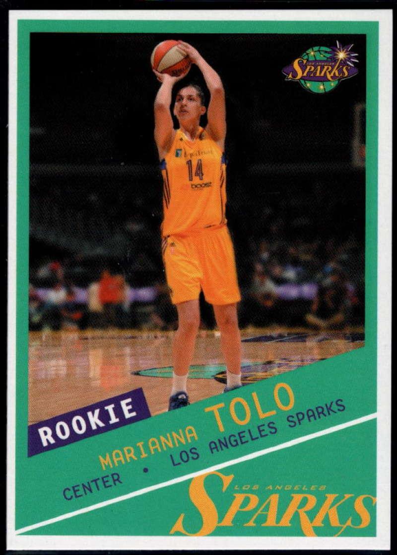 2015-16 Rittenhouse WNBA #40 Marianna Tolo NM-MT+ RC Los Angeles Sparks