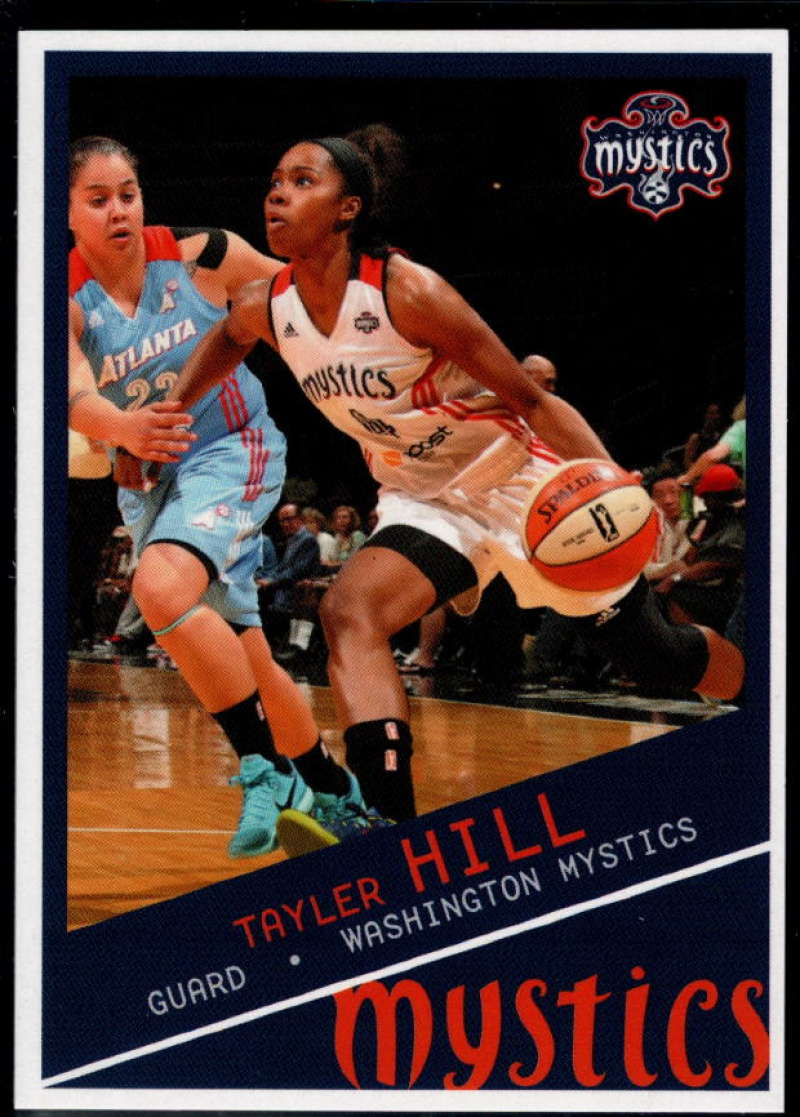 2015-16 Rittenhouse WNBA #99 Tayler Hill NM-MT+ Washington Mystics
