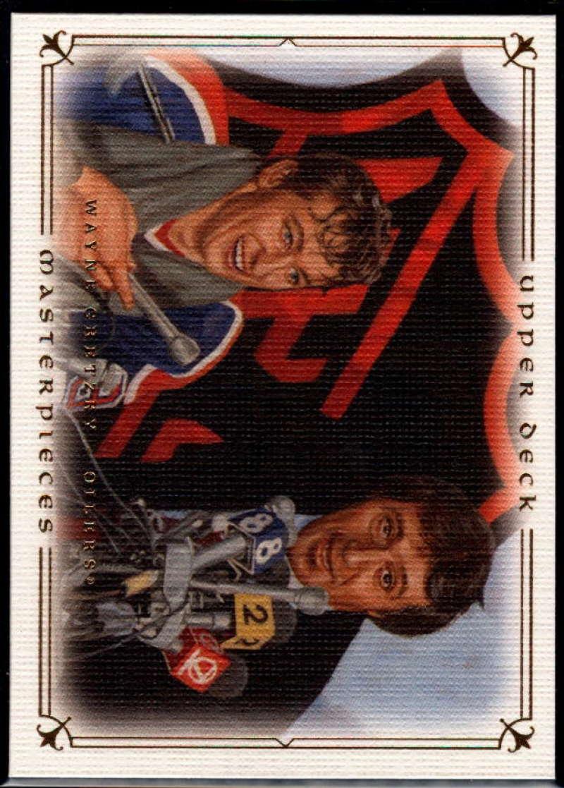 2008-09 Upper Deck Masterpieces #17 Wayne Gretzky NM-MT+ Edmonton Oilers