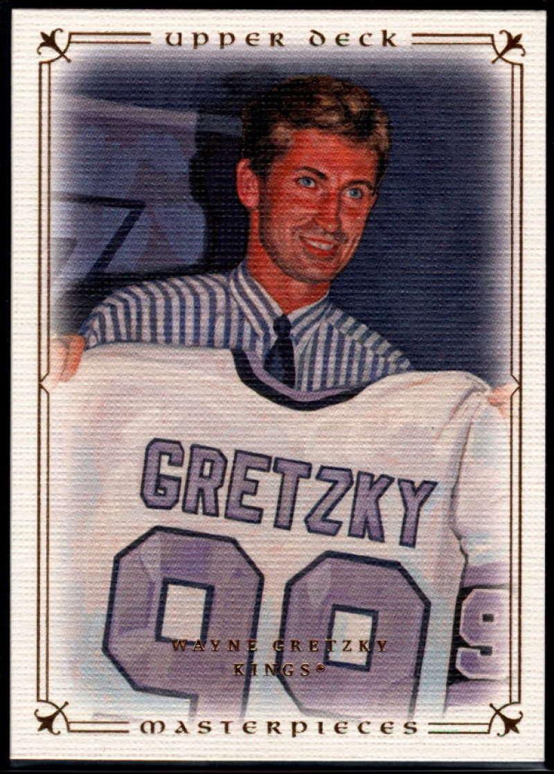 2008-09 Upper Deck Masterpieces #20 Wayne Gretzky NM-MT+ Los Angeles Kings