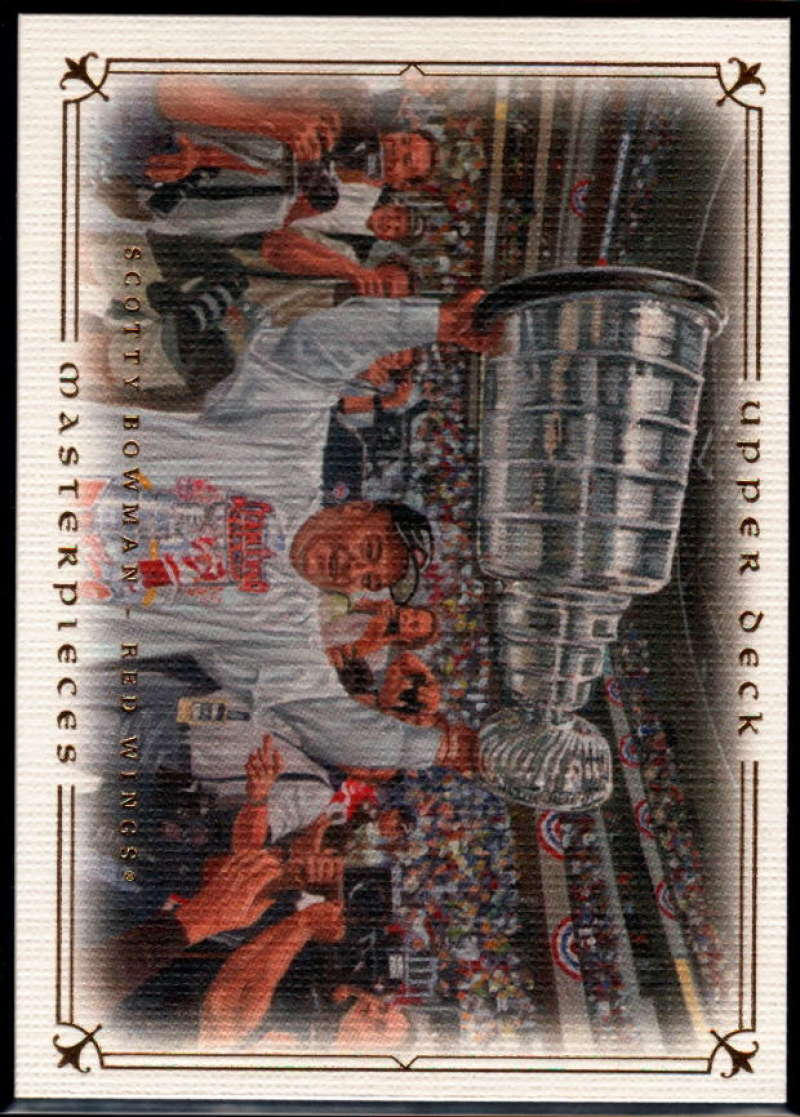 2008-09 Upper Deck Masterpieces #44 Scotty Bowman NM-MT+ Detroit Red Wings
