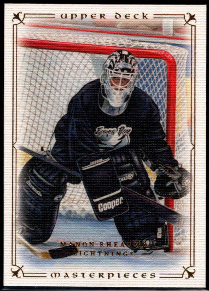 2008-09 Upper Deck Masterpieces #65 Manon Rheaume NM-MT+ Tampa Bay Lightning