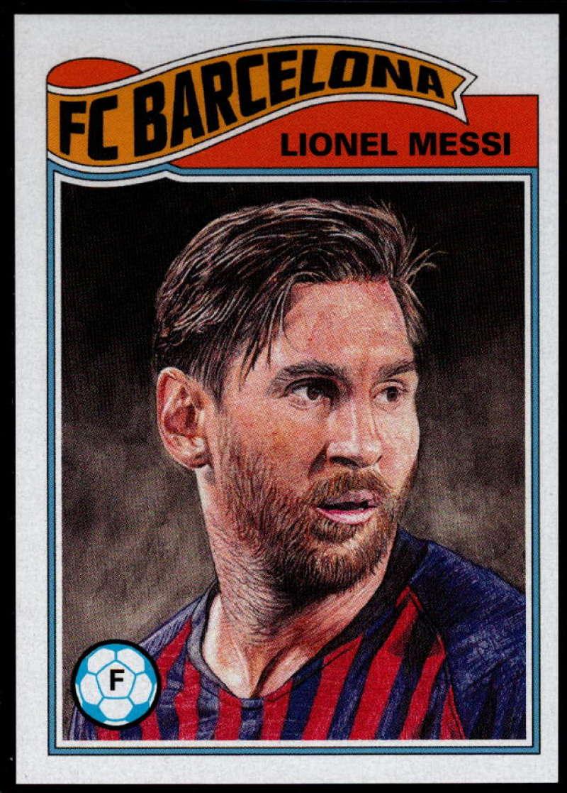 2019 Topps Living Set UEFA Champions League #1 Lionel Messi NM-MT+ FC Barcelona