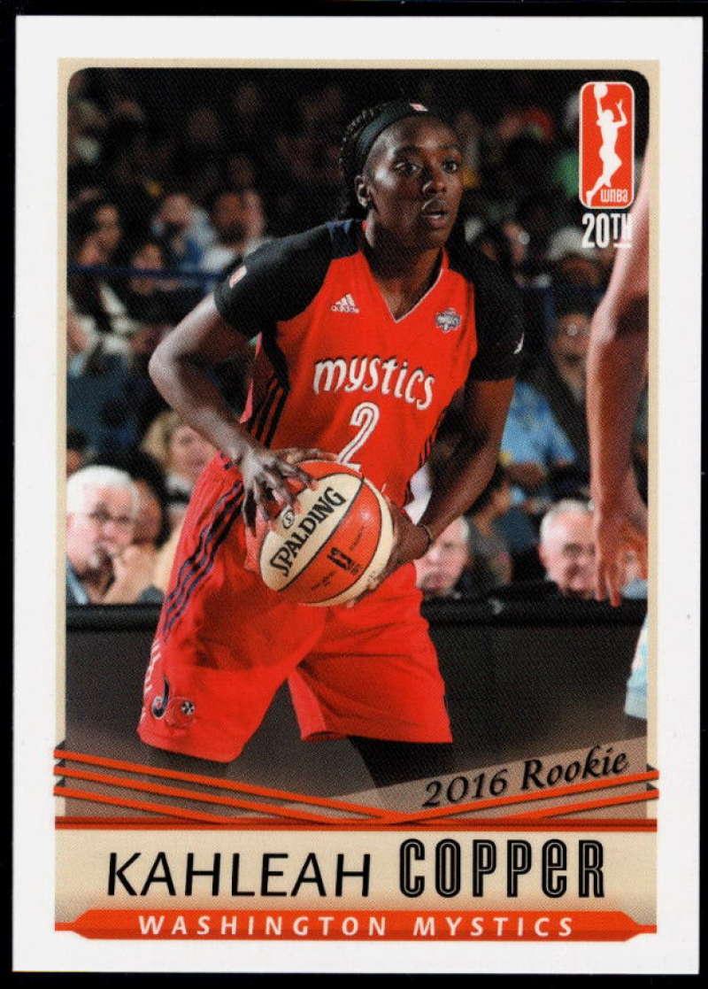 2016-17 RittenHouse WNBA #105 Kahleah Copper NM-MT+ RC Washington Mystics