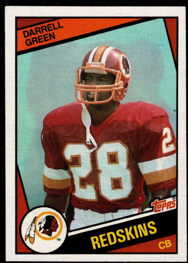 1984 Topps #380 Darrell Green NM Near Mint RC Washington Redskins