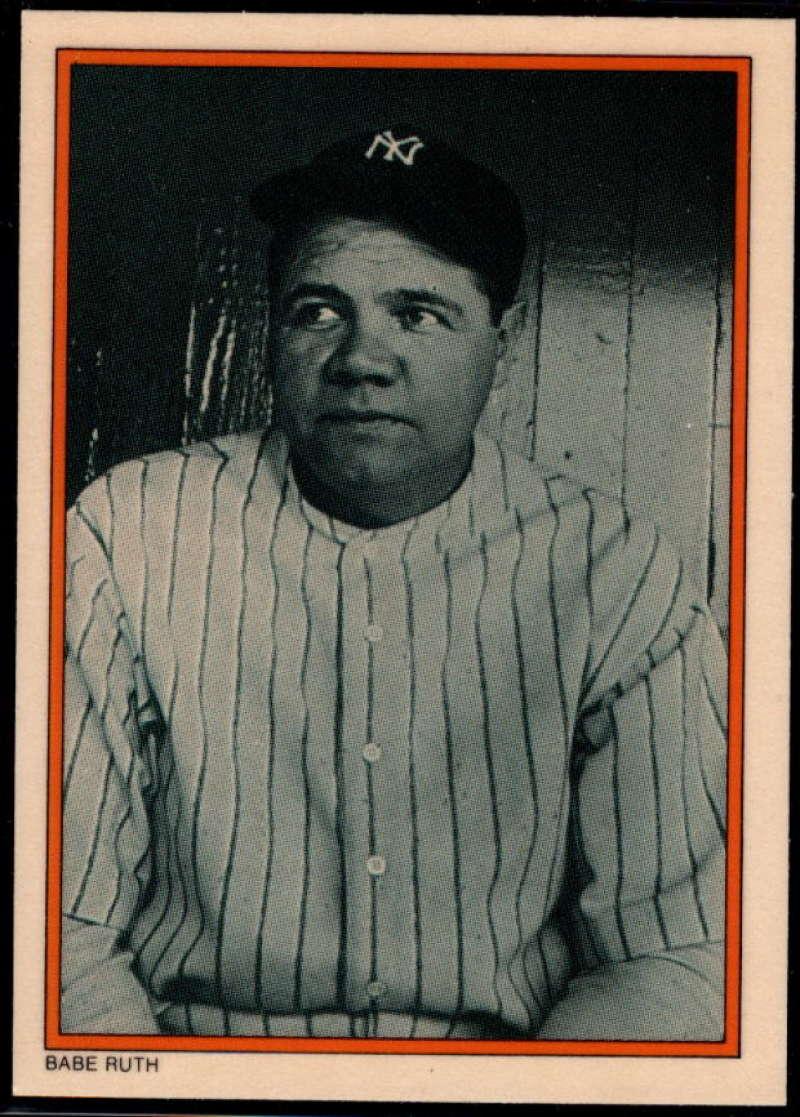 1985 Topps Circle K #2 Babe Ruth NM-MT+ New York Yankees