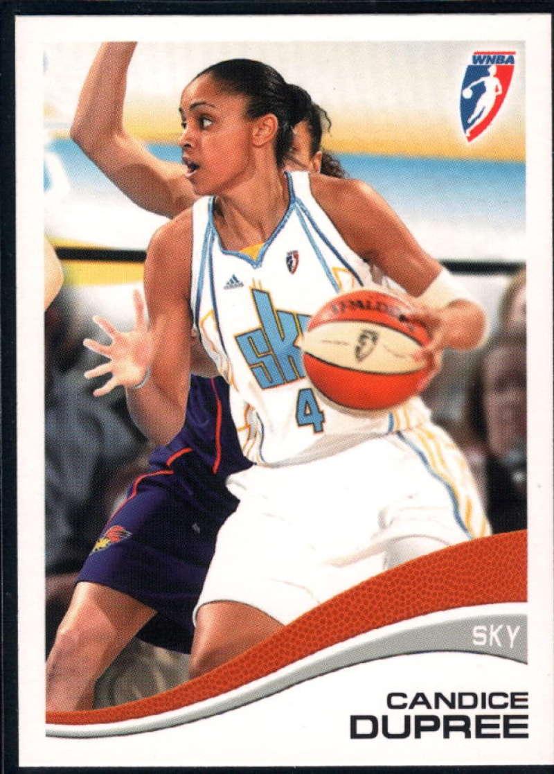 2007-08 Rittenhouse WNBA #45 Candice Dupree NM-MT+ Chicago Sky