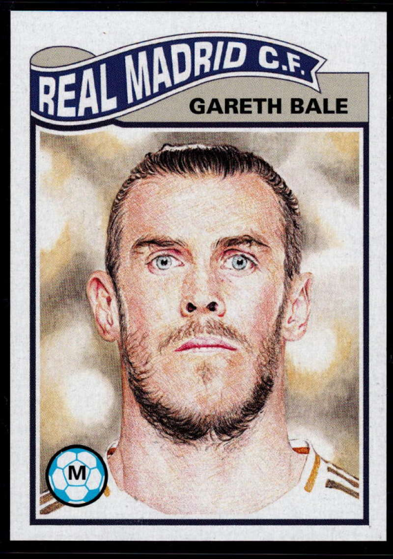 2019 Topps Living Set UEFA Champions League #53 Gareth Bale NM-MT+ Real Madrid