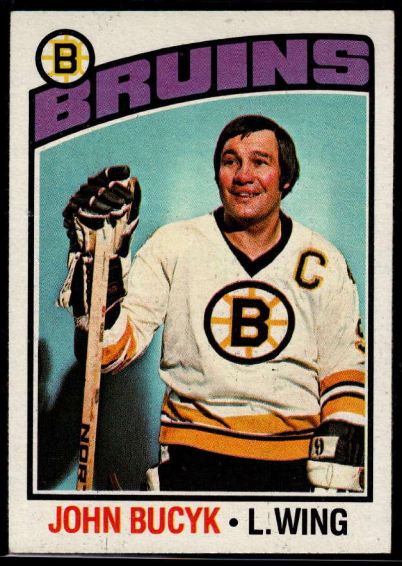 1976-77 Topps #95 Johnny Bucyk NM Near Mint