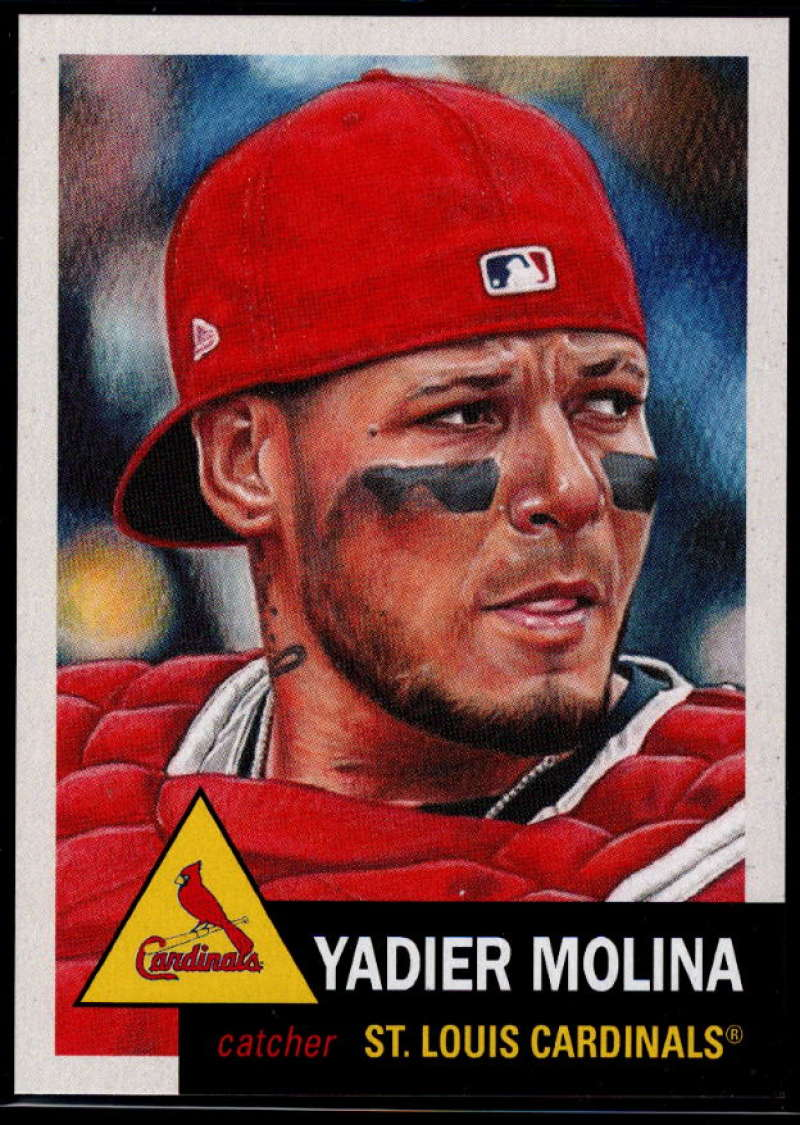 2019 Topps Living Set #250 Yadier Molina NM-MT+ St. Louis Cardinals
