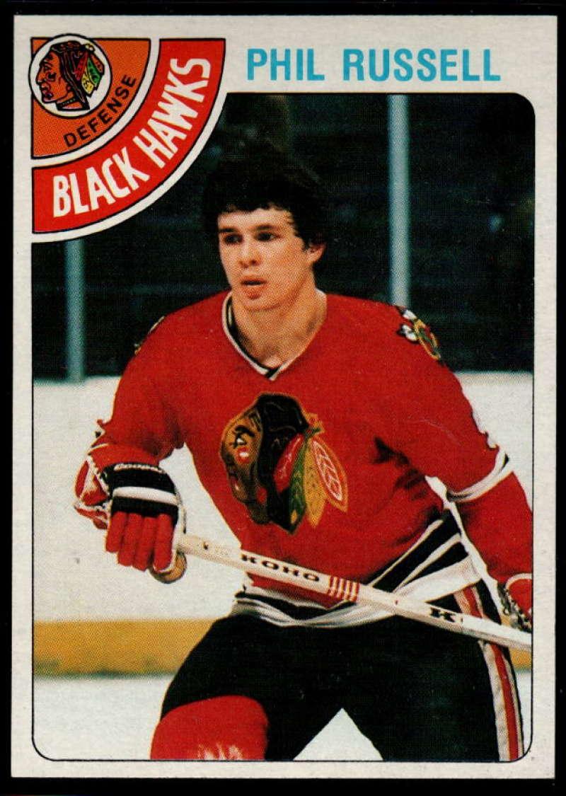 1978-79 Topps #12 Phil Russell NM Near Mint Chicago Blackhawks