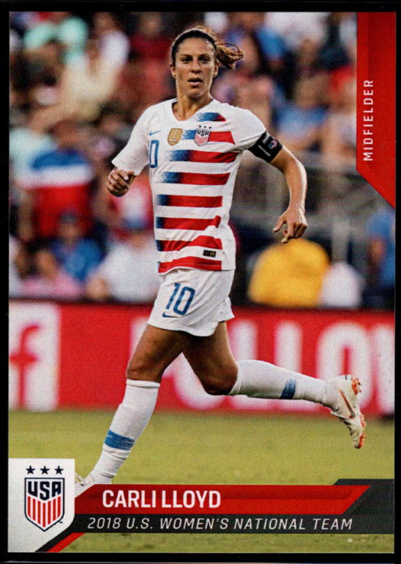 2018 Panini US Soccer National Team #20 Carli Lloyd NM-MT+ USA