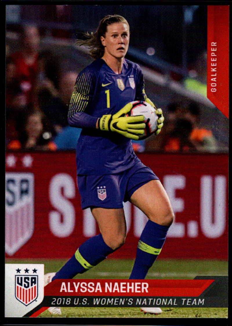 2018 Panini US Soccer National Team #23 Alyssa Naeher NM-MT+ USA