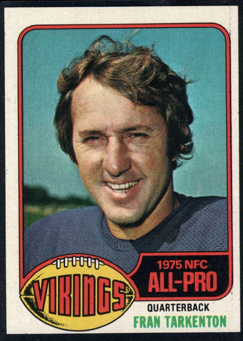 1976 Topps #500 Fran Tarkenton NM Near Mint Minnesota Vikings