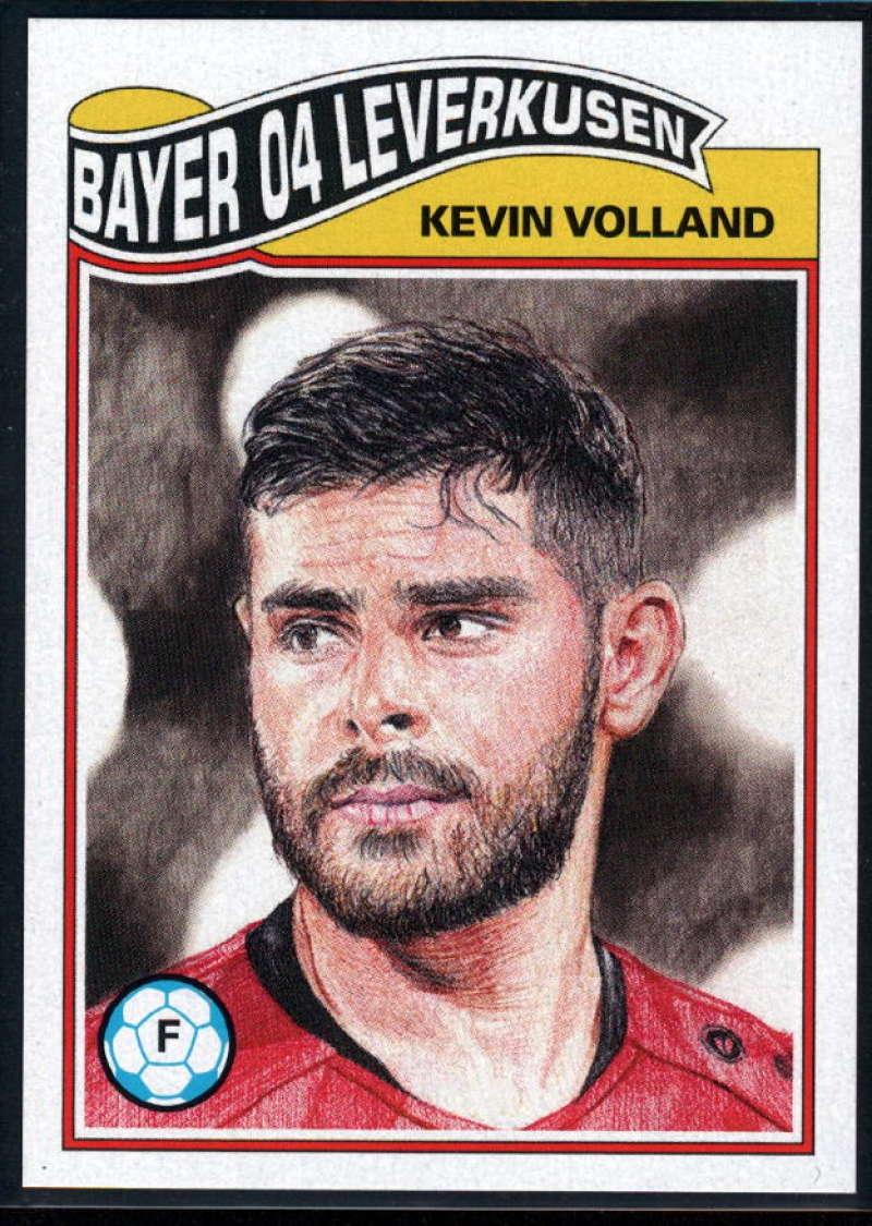 2019 Topps Living Set UEFA Champions League #102 Kevin Volland NM-MT+ Bayer 04 Leverkusen