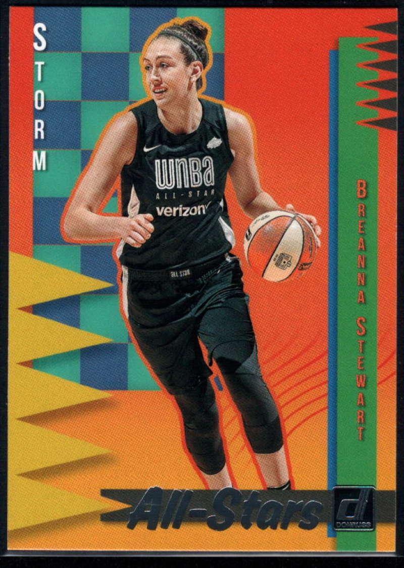 2019 Donruss WNBA All-Stars #12 Breanna Stewart NM-MT+ Seattle Storm