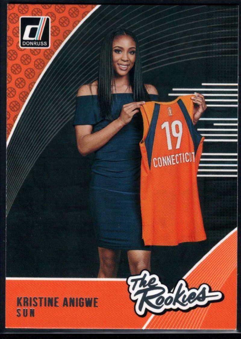 2019 Donruss WNBA The Rookies #2 Kristine Anigwe NM-MT+ Connecticut Sun