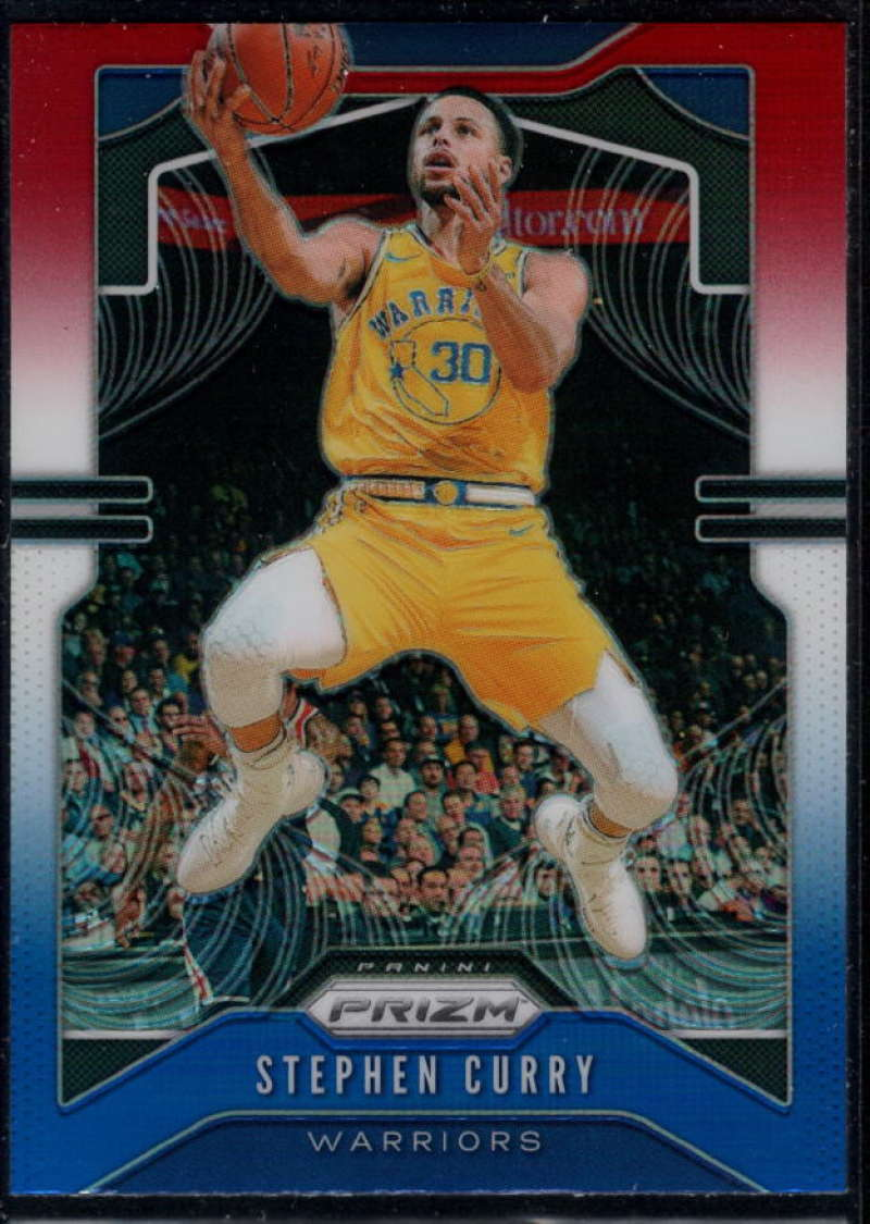 2019-20 Panini Prizm Prizms Red White and Blue #98 Stephen Curry NM-MT+ Golden State Warriors