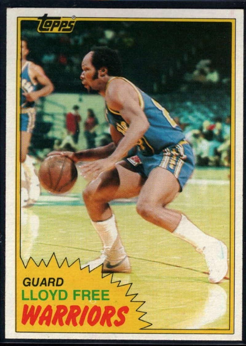 1981-82 Topps #13 World B. Free NM-MT Golden State Warriors