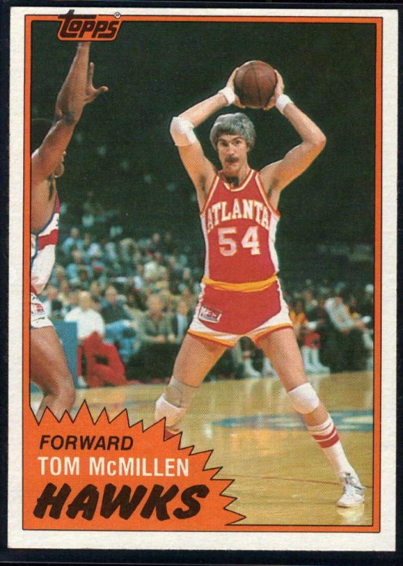 1981-82 Topps #E70 Tom McMillen NM-MT Atlanta Hawks