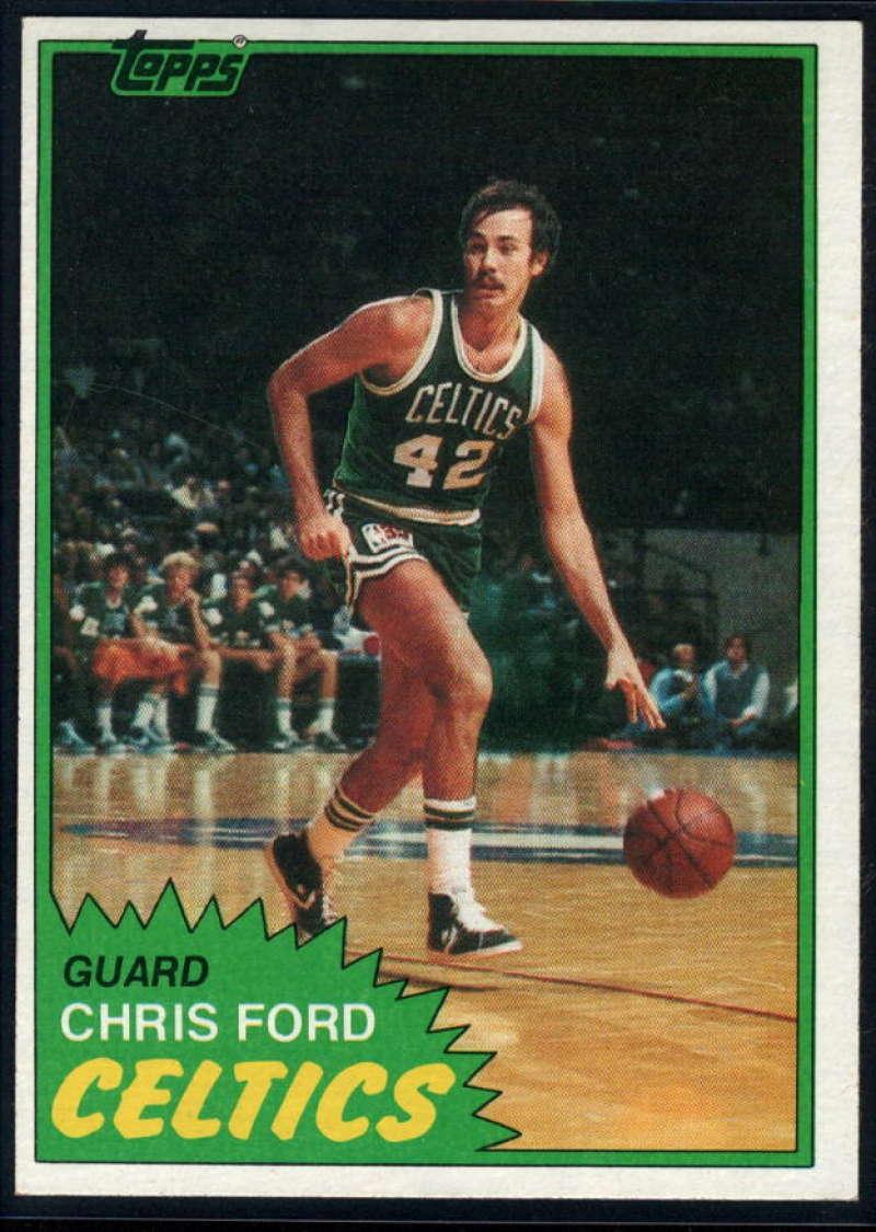 1981-82 Topps #E73 Chris Ford NM-MT Boston Celtics