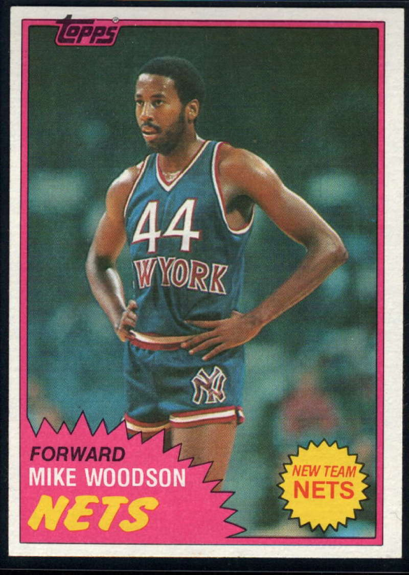 1981-82 Topps #E89 Mike Woodson NM-MT RC New Jersey Nets