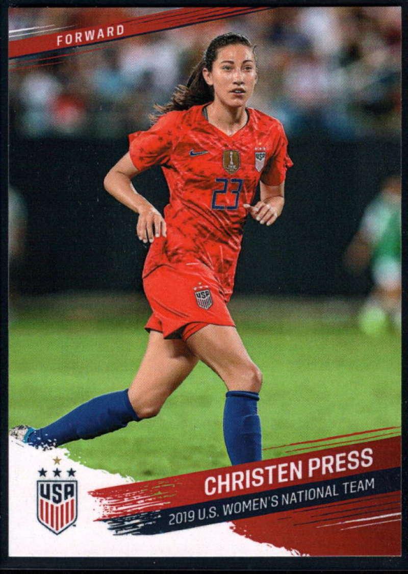 2019 Panini US National Team Set #22 Christen Press NM-MT+ USA