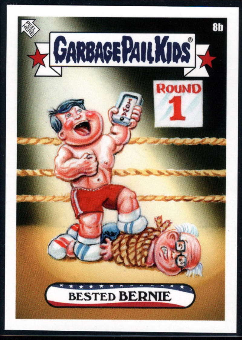 2020 Topps Garbage Pail Kids disg-Race to the White House #8B Bested BERNIE NM-MT+