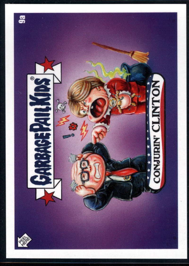 2020 Topps Garbage Pail Kids disg-Race to the White House #9A Conjurin CLINTON NM-MT+