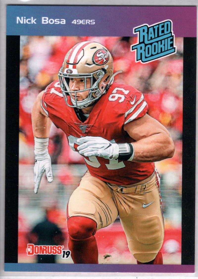 2019 Panini Instant Rated Rookies #2 Nick Bosa NM-MT+ RC /280 San Francisco 49ers