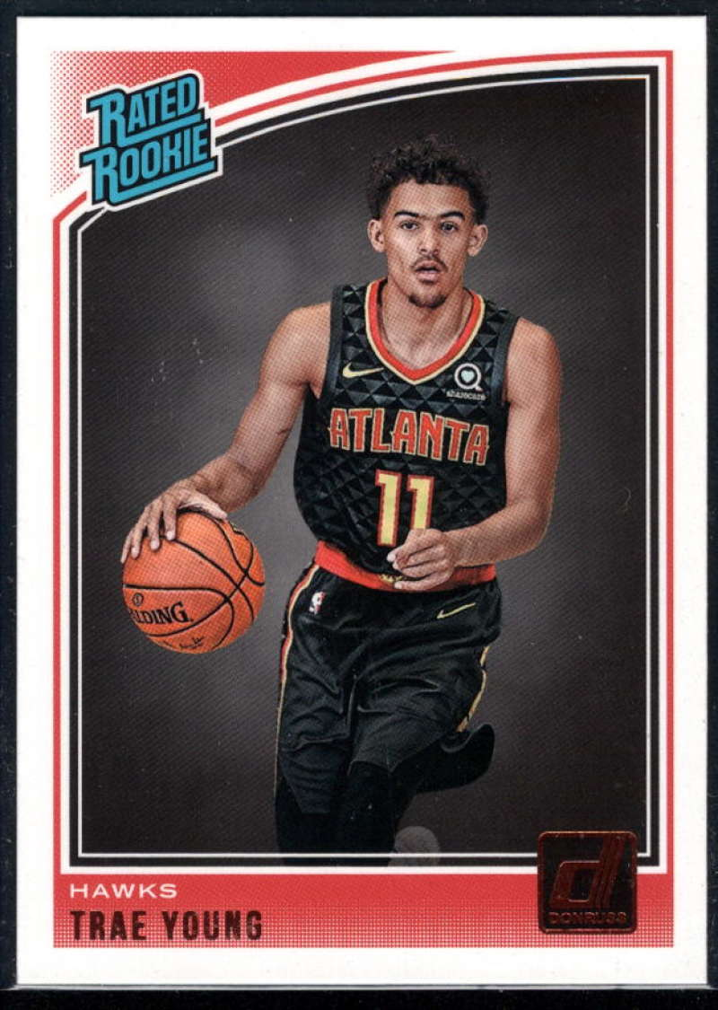 2018-19 Donruss #198 Trae Young Rated Rookie NM-MT+ RC Atlanta Hawks
