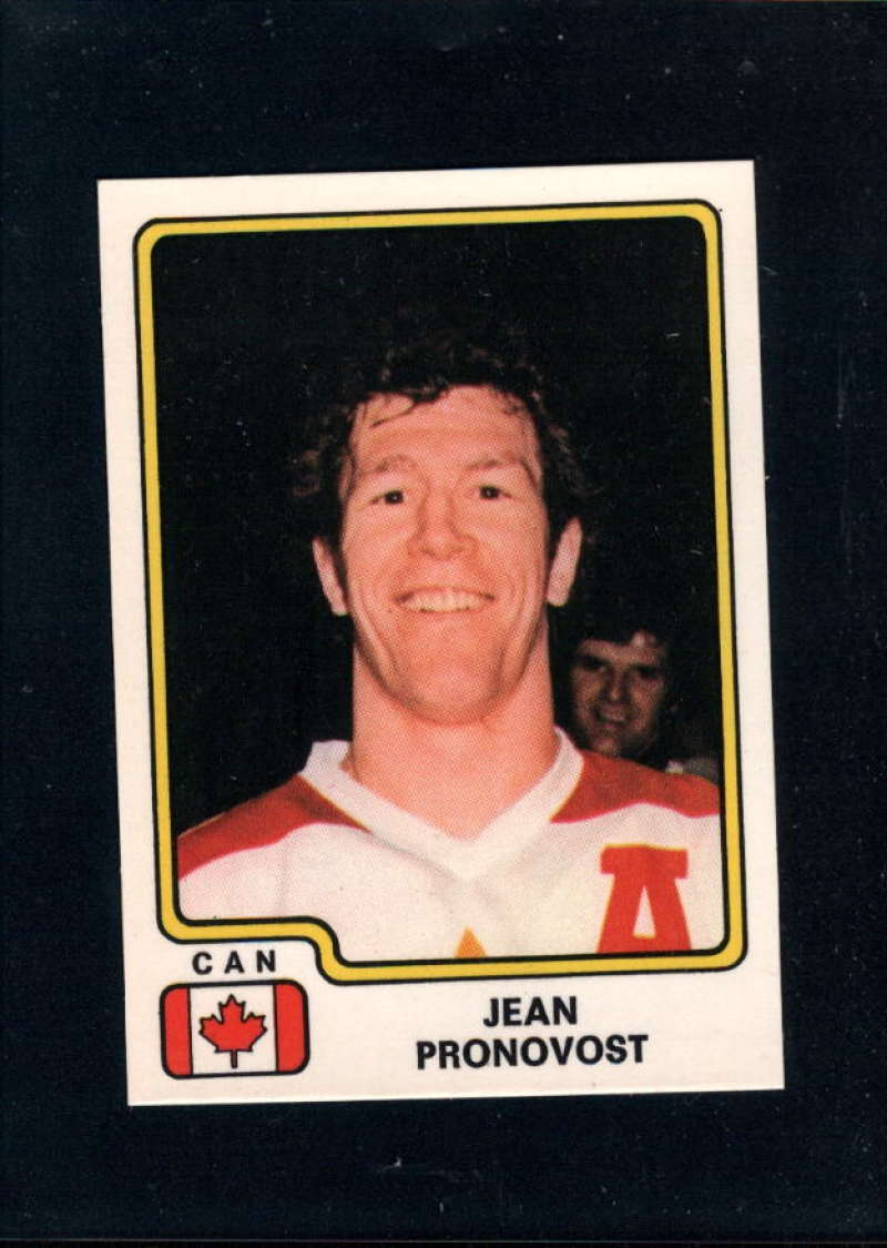1979-80 Panini World Championship Stickers #64 Jean Pronovost NM Near Mint Canada