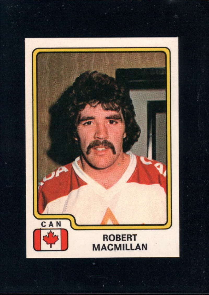 1979-80 Panini World Championship Stickers #66 Bob MacMillan NM Near Mint Canada