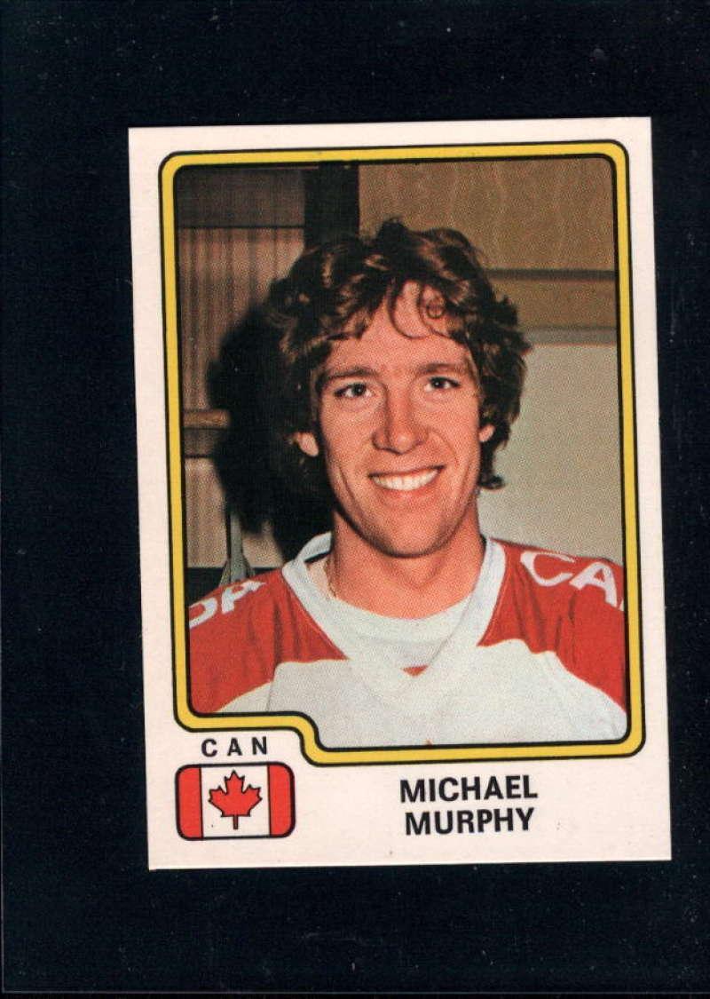 1979-80 Panini World Championship Stickers #69 Mike Murphy NM Near Mint Canada