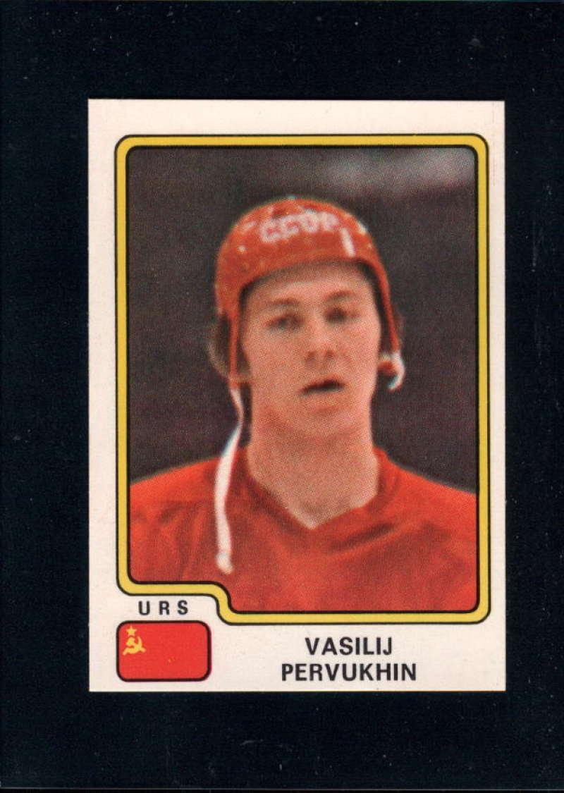 1979-80 Panini World Championship Stickers #143 Vasili Pervukhin NM Near Mint USSR