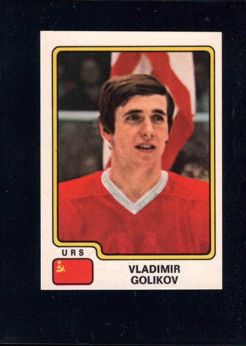 1979-80 Panini World Championship Stickers #148 Vladimir Golikov NM Near Mint USSR