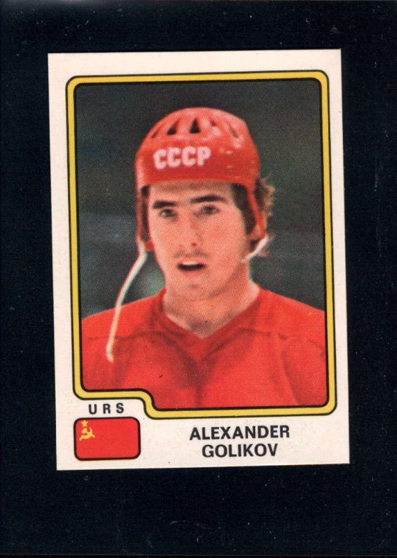 1979-80 Panini World Championship Stickers #154 Aleksandr Golikov NM Near Mint USSR
