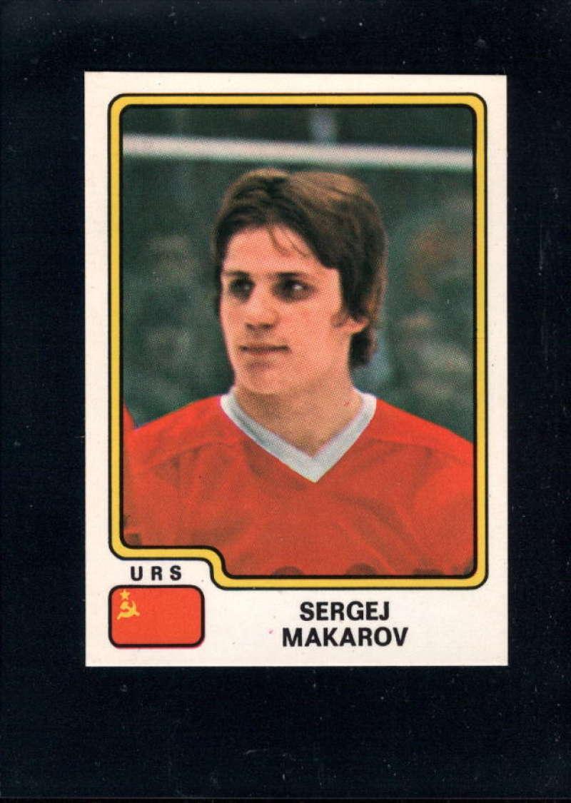 1979-80 Panini World Championship Stickers #157 Sergei Makarov NM Near Mint USSR